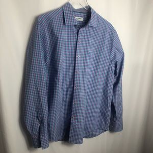Tommy Bahama Mens Button Up Collared Shirt 0558